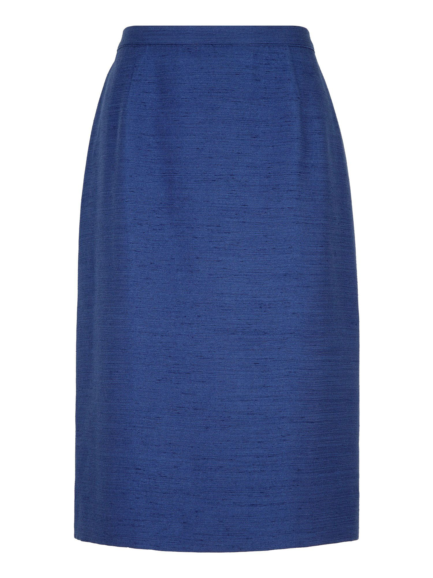 French navy skirt