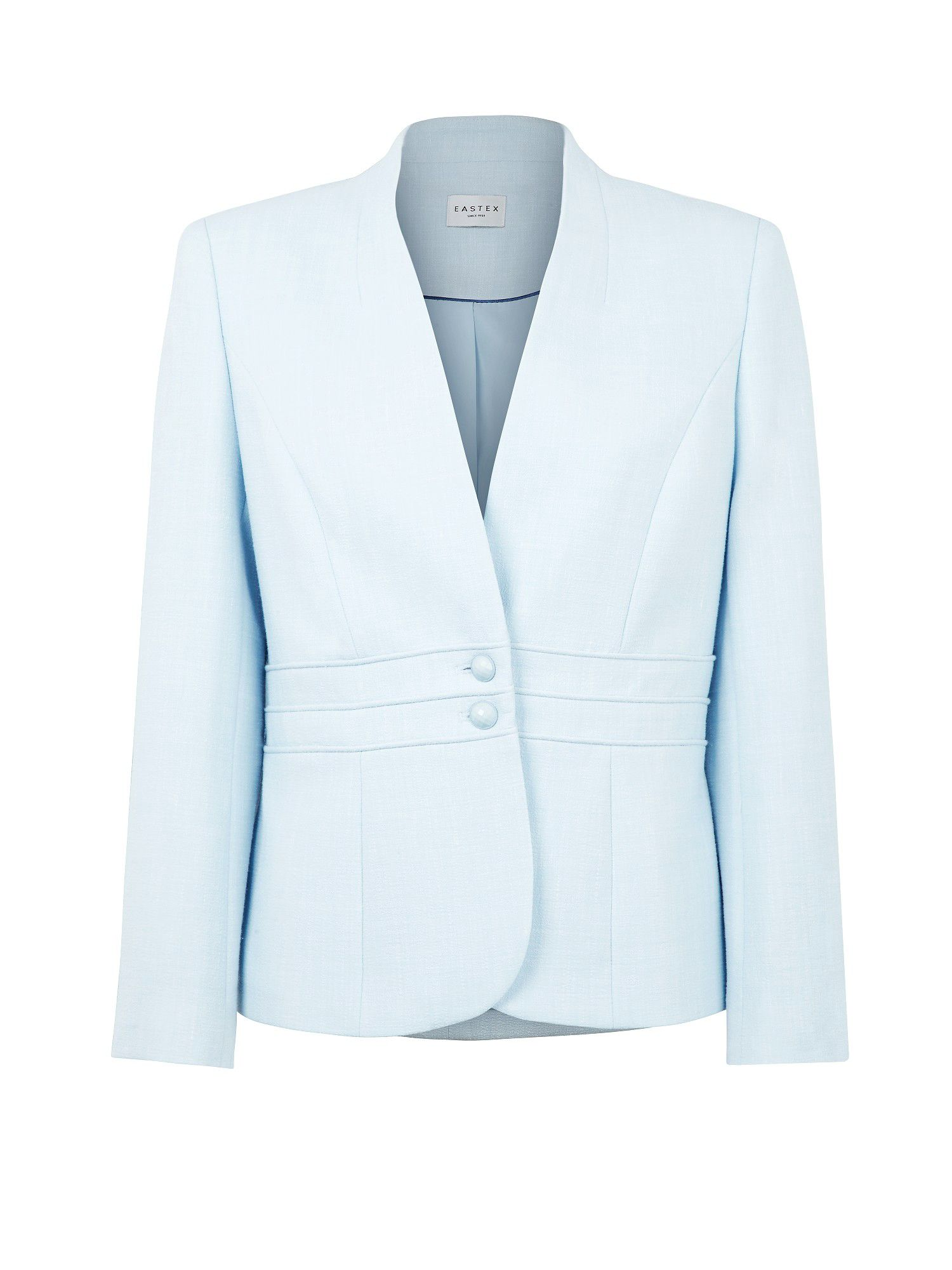 Ice blue tailored jacket
