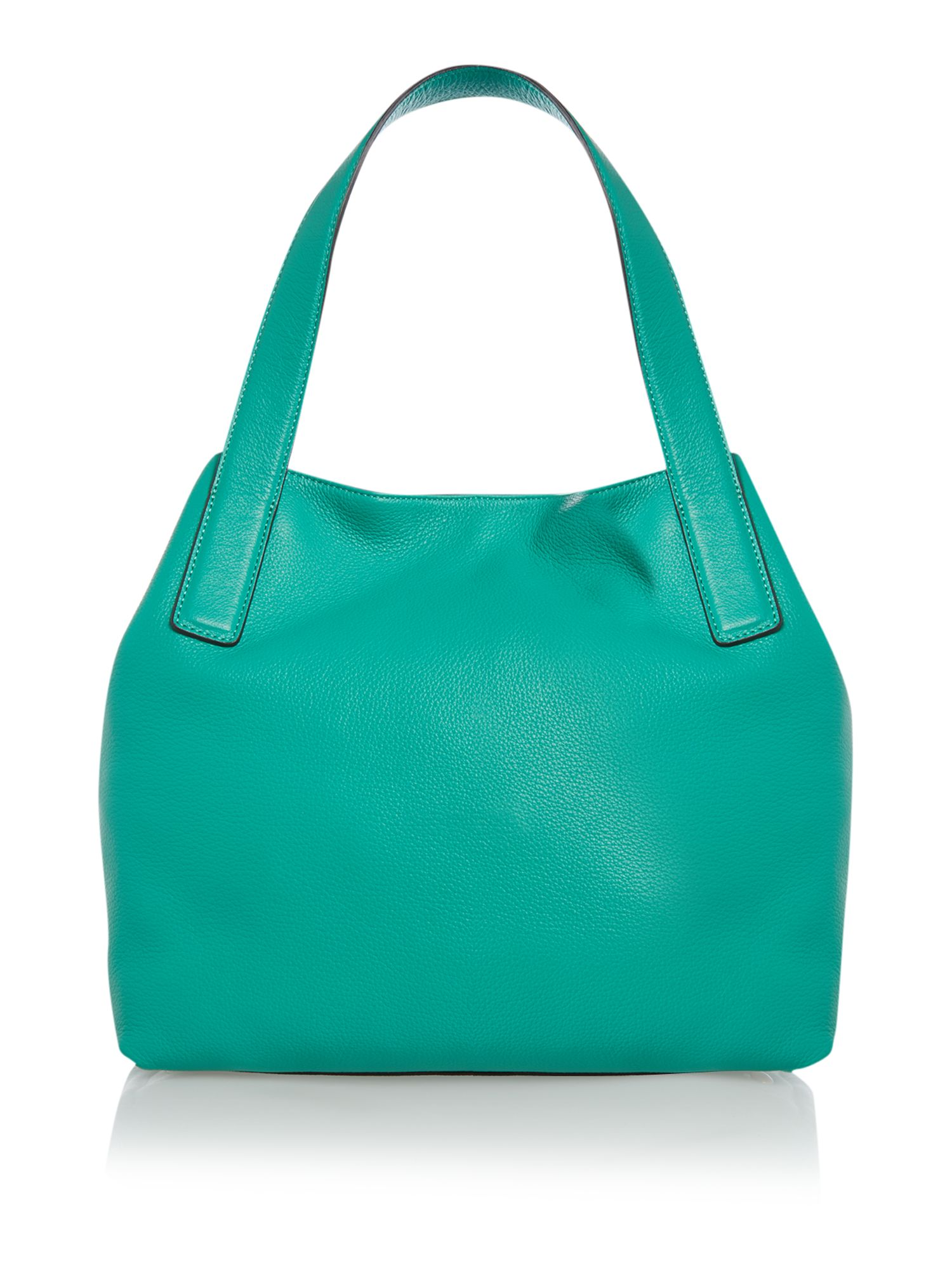 Mila green tote bag