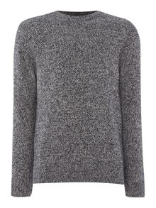 arago twisted yarn crew neck knit