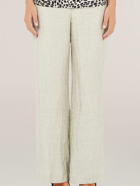 Precis Petite Oyster crinkle trousers