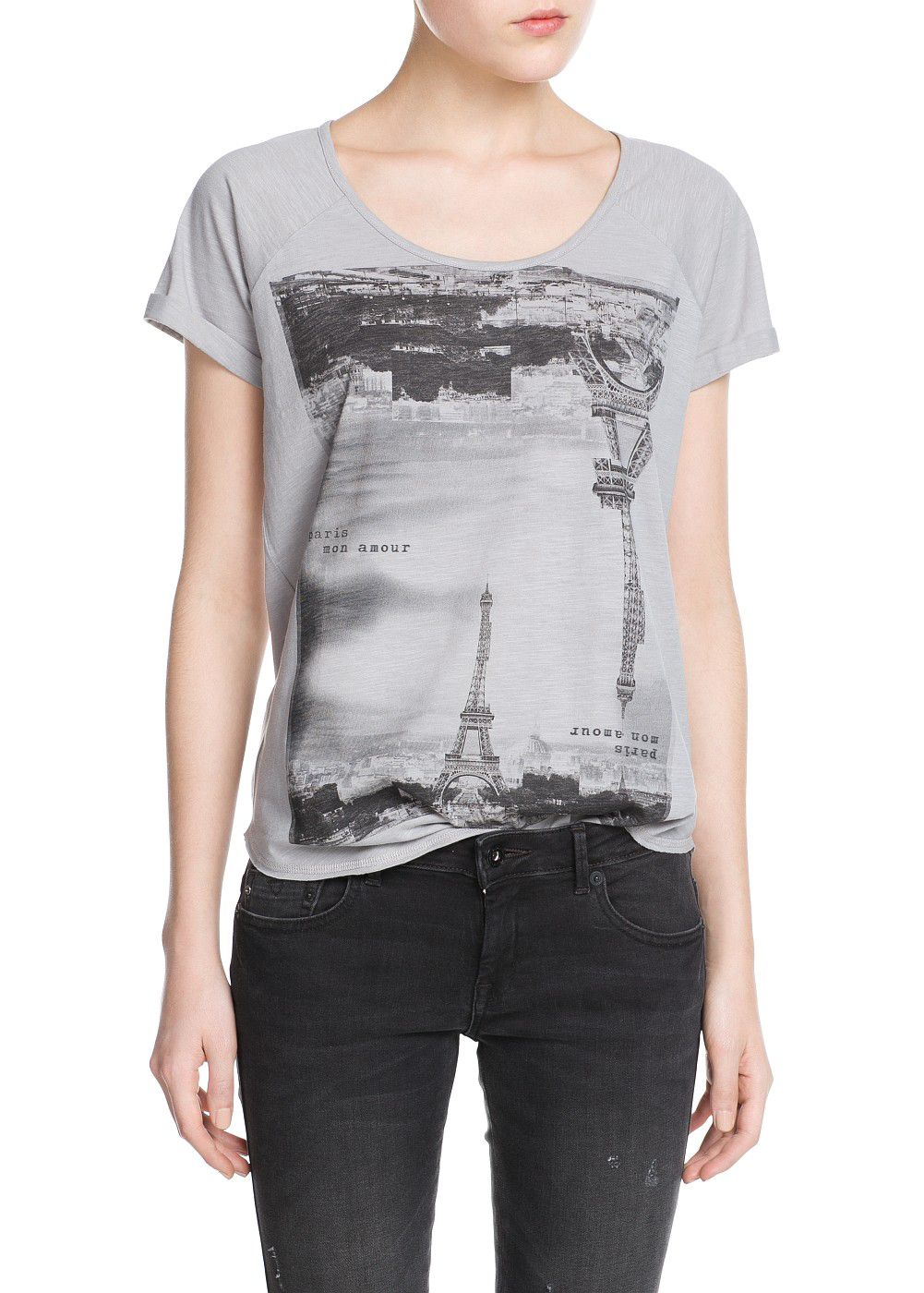 City slub-cotton t-shirt