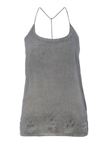 Cotton slip vest