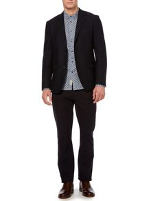 New York Italian fabric textured blazer