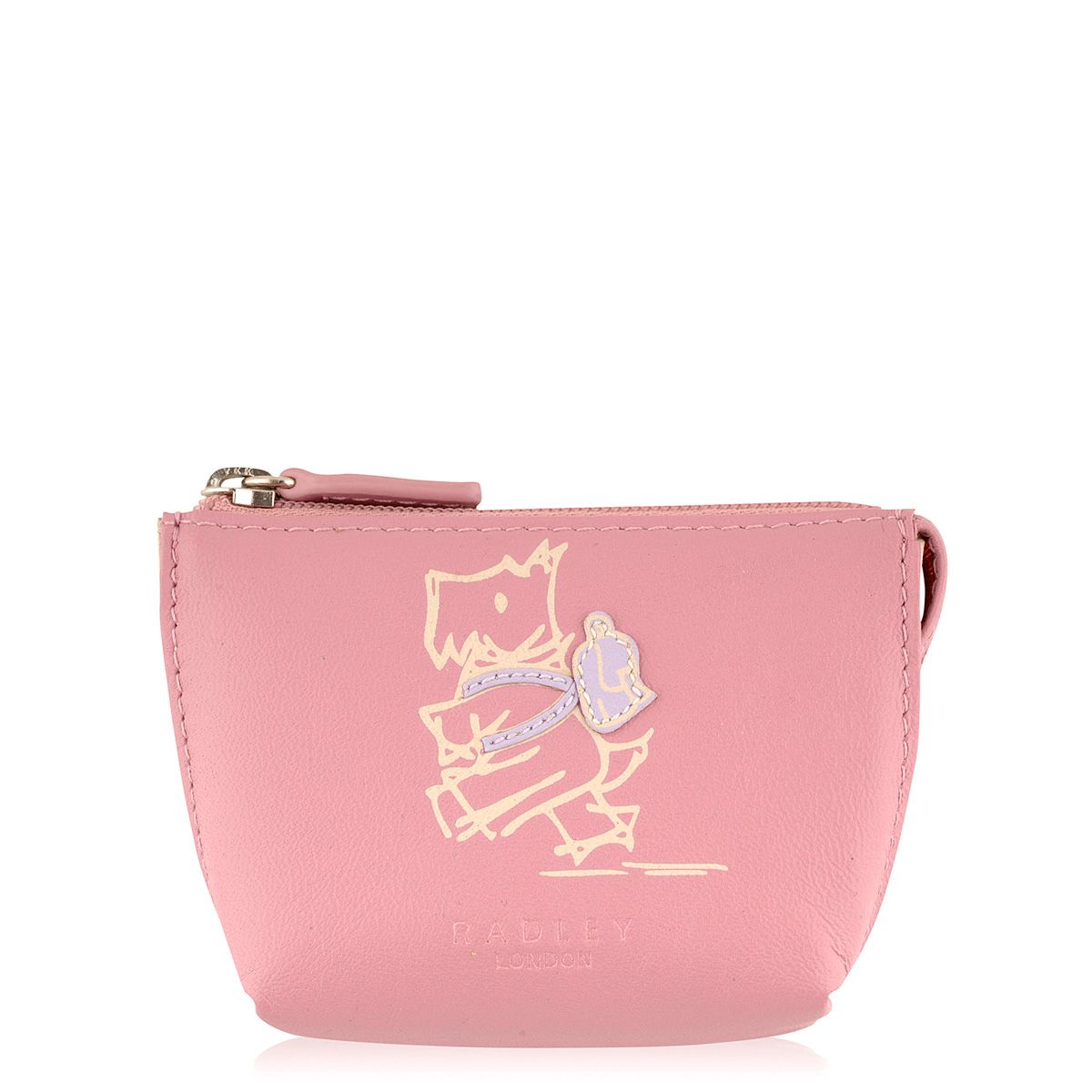 Walk the walk pink coin purse