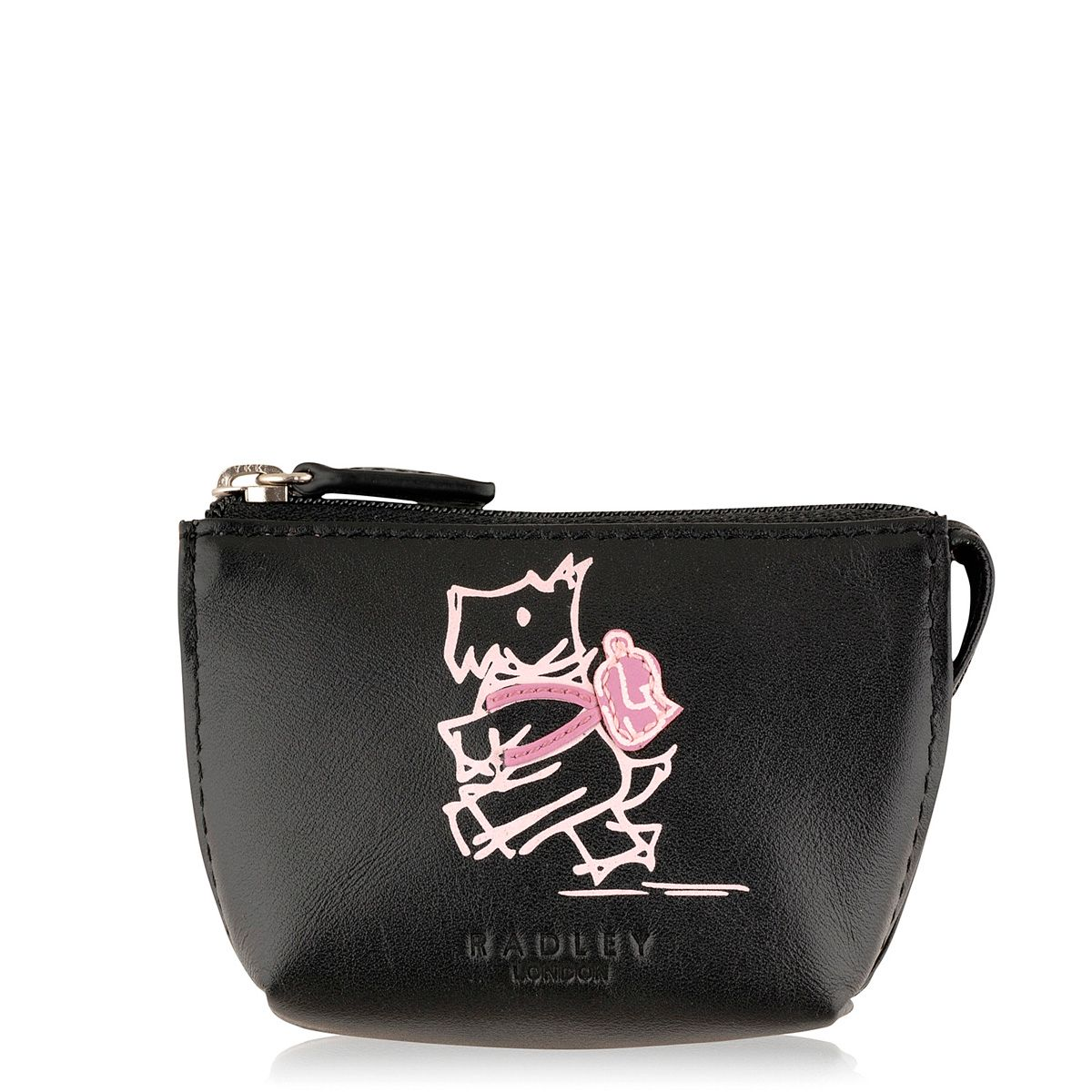 Walk the walk black coin purse