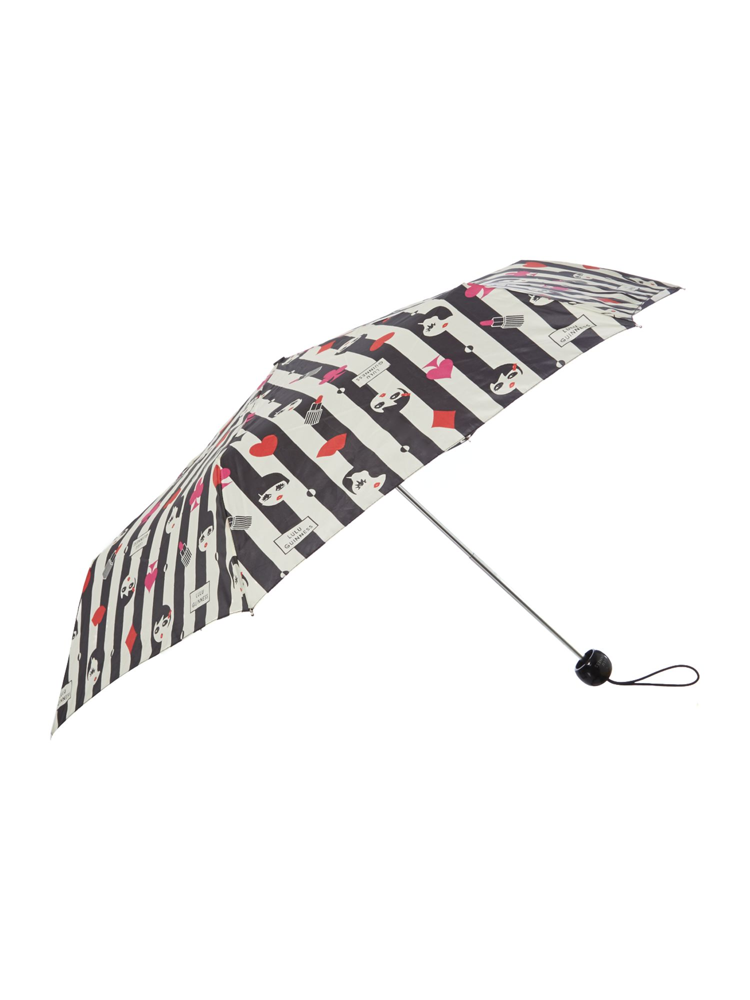 Superslim doll face umbrella