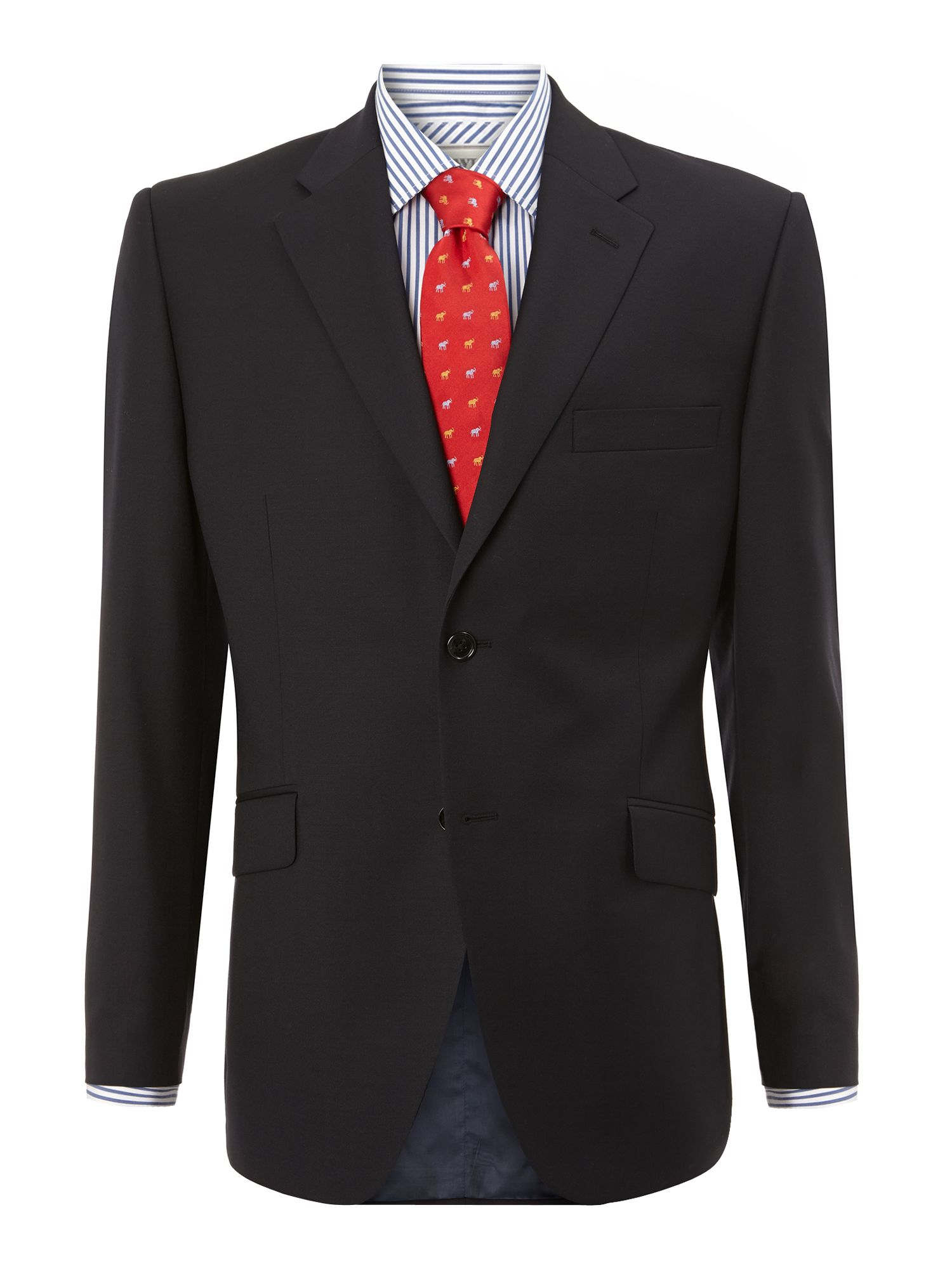 Men's Howick Tailored Fallon notch lapel nested suit, Navy