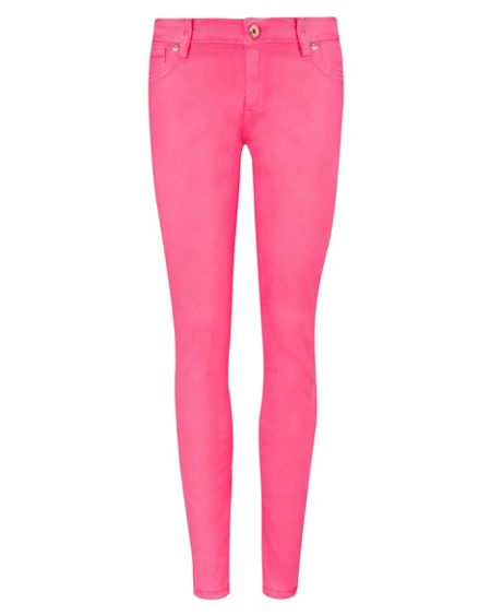 Ted Baker Annna wax finish skinny denim