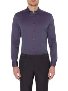 Quentin cutaway textured two tone shirt