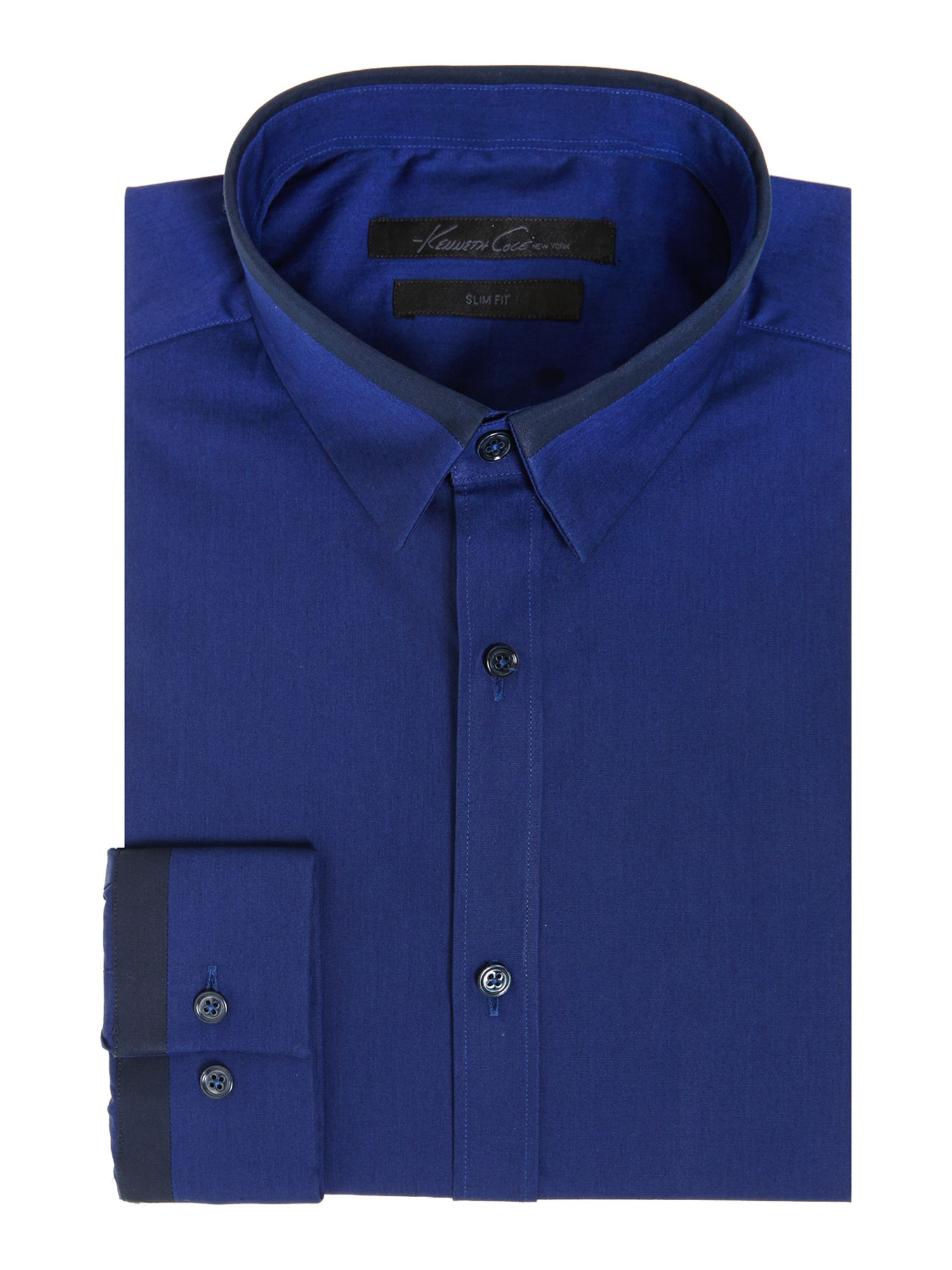 Grattan cuff and collar detail shirt