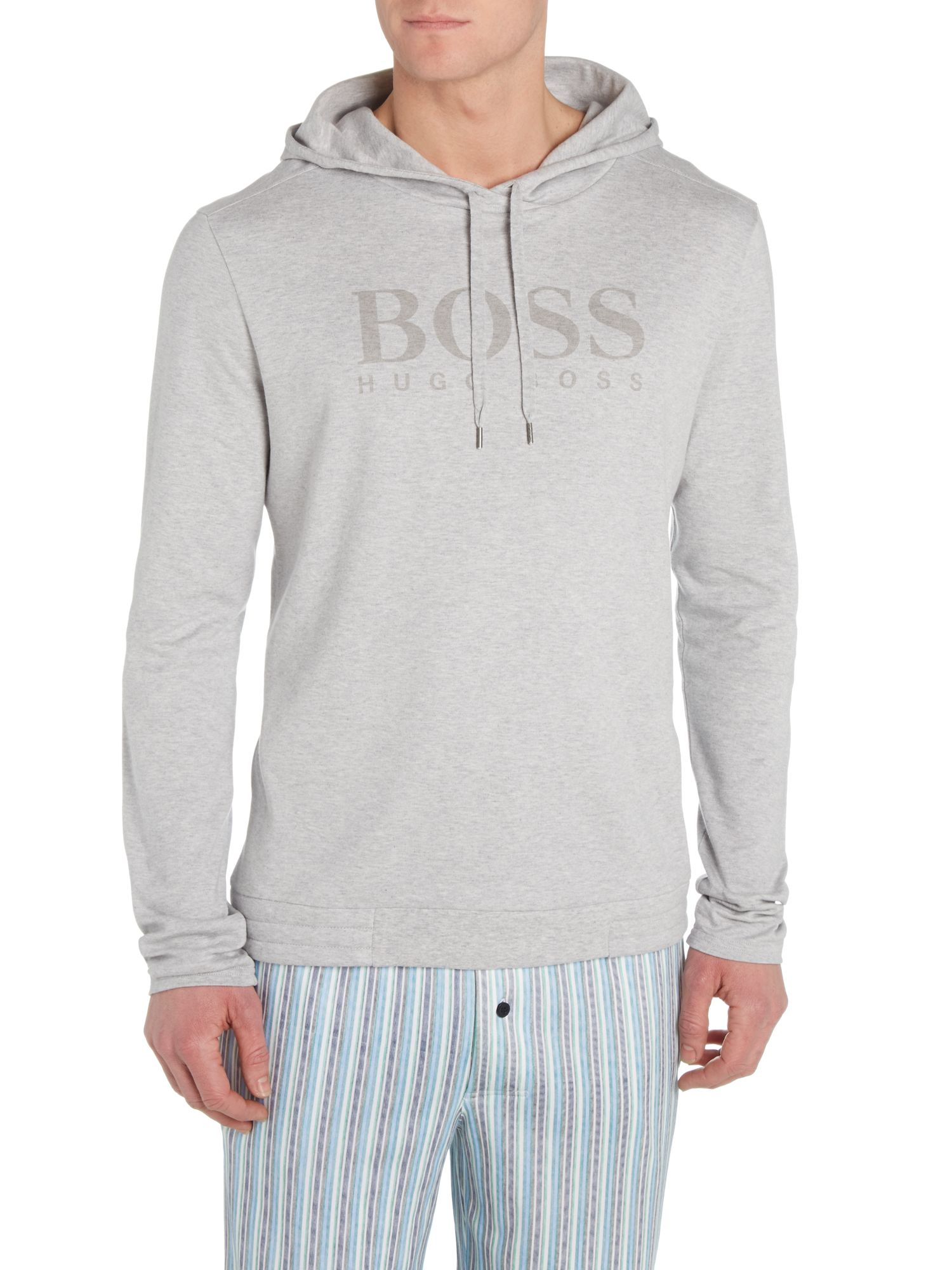 Logo hooded top