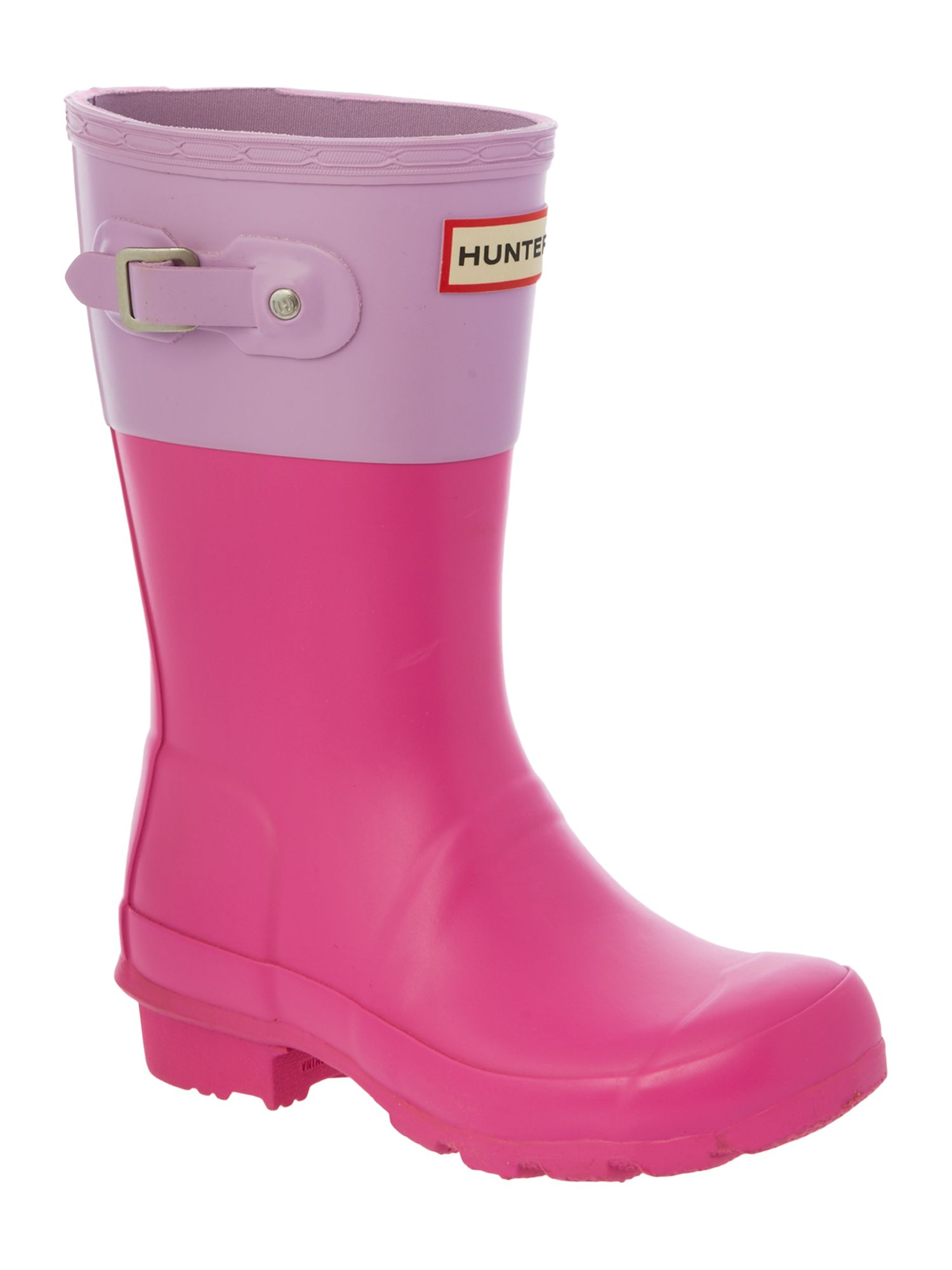 Kid`s Original Hunter colour block welly
