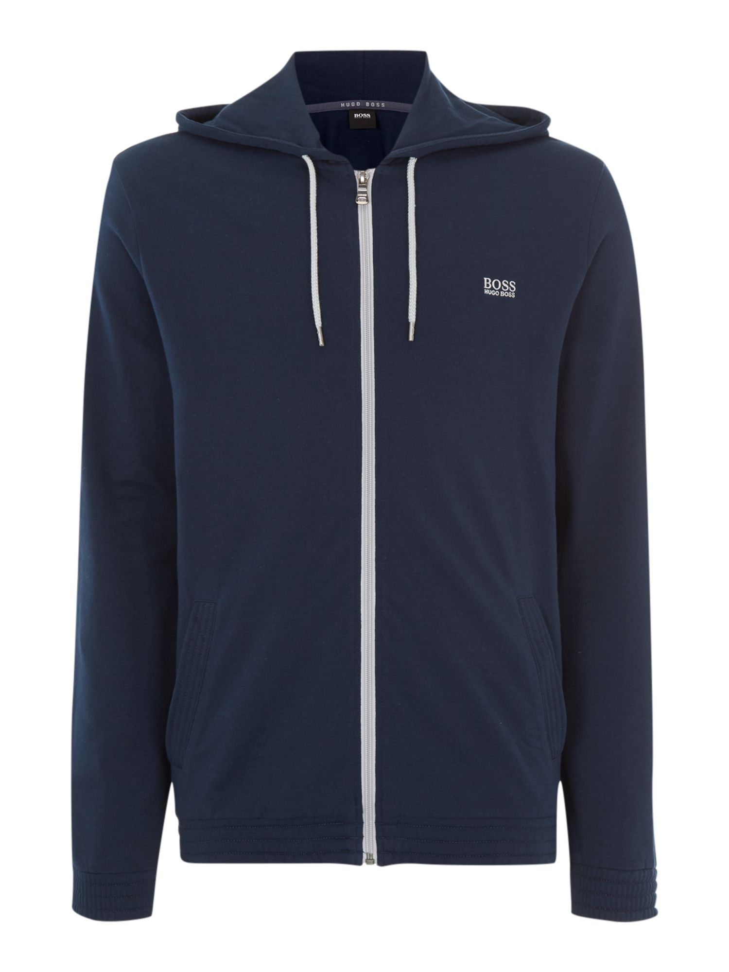 Hooded zip thru