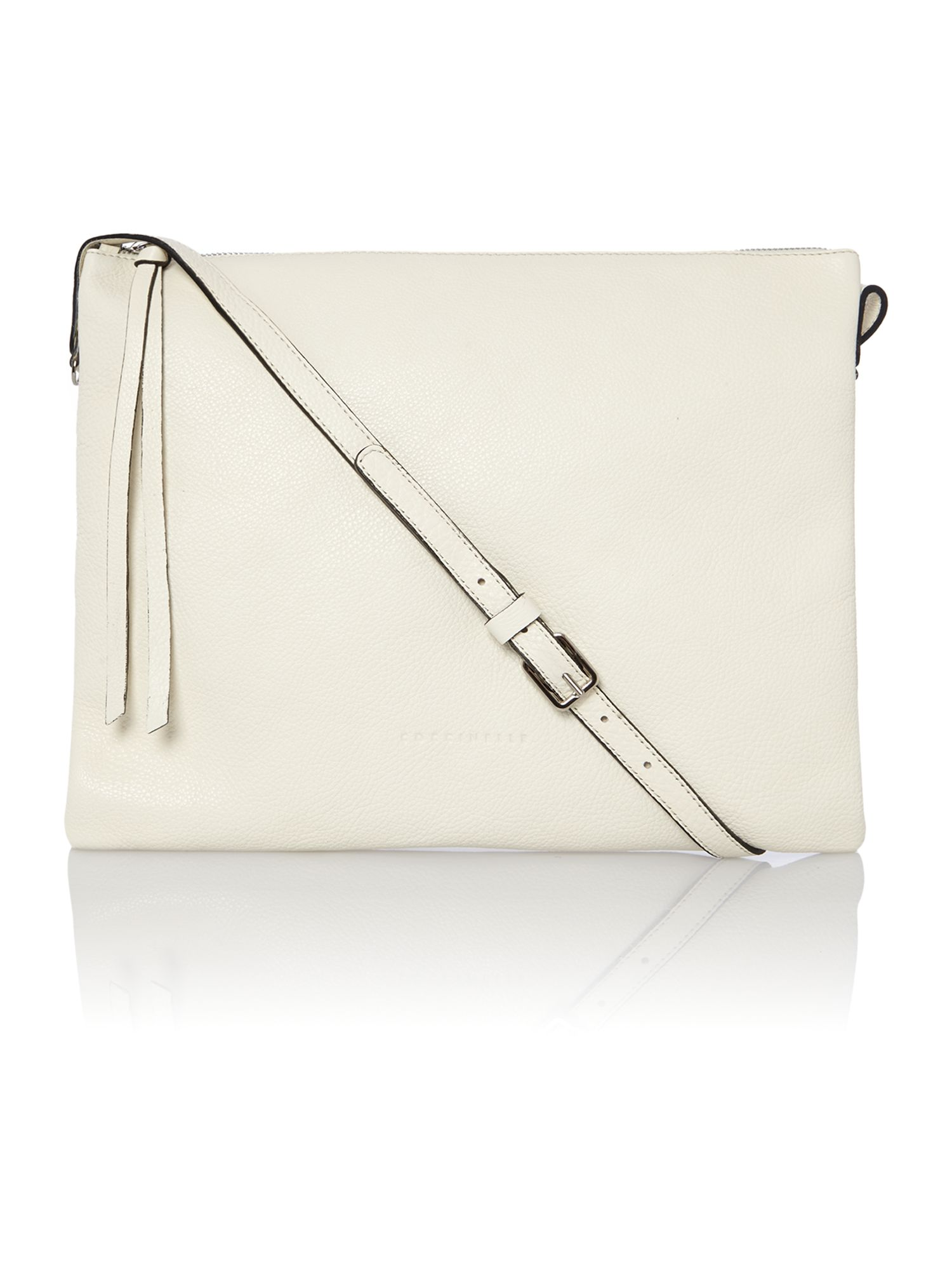 Mila cream cross body bag
