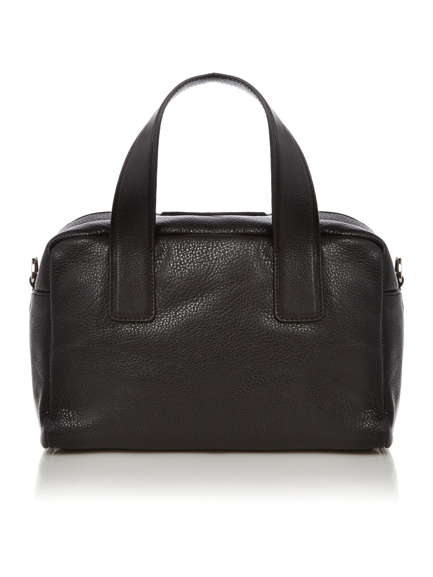 Mila black bowling bag