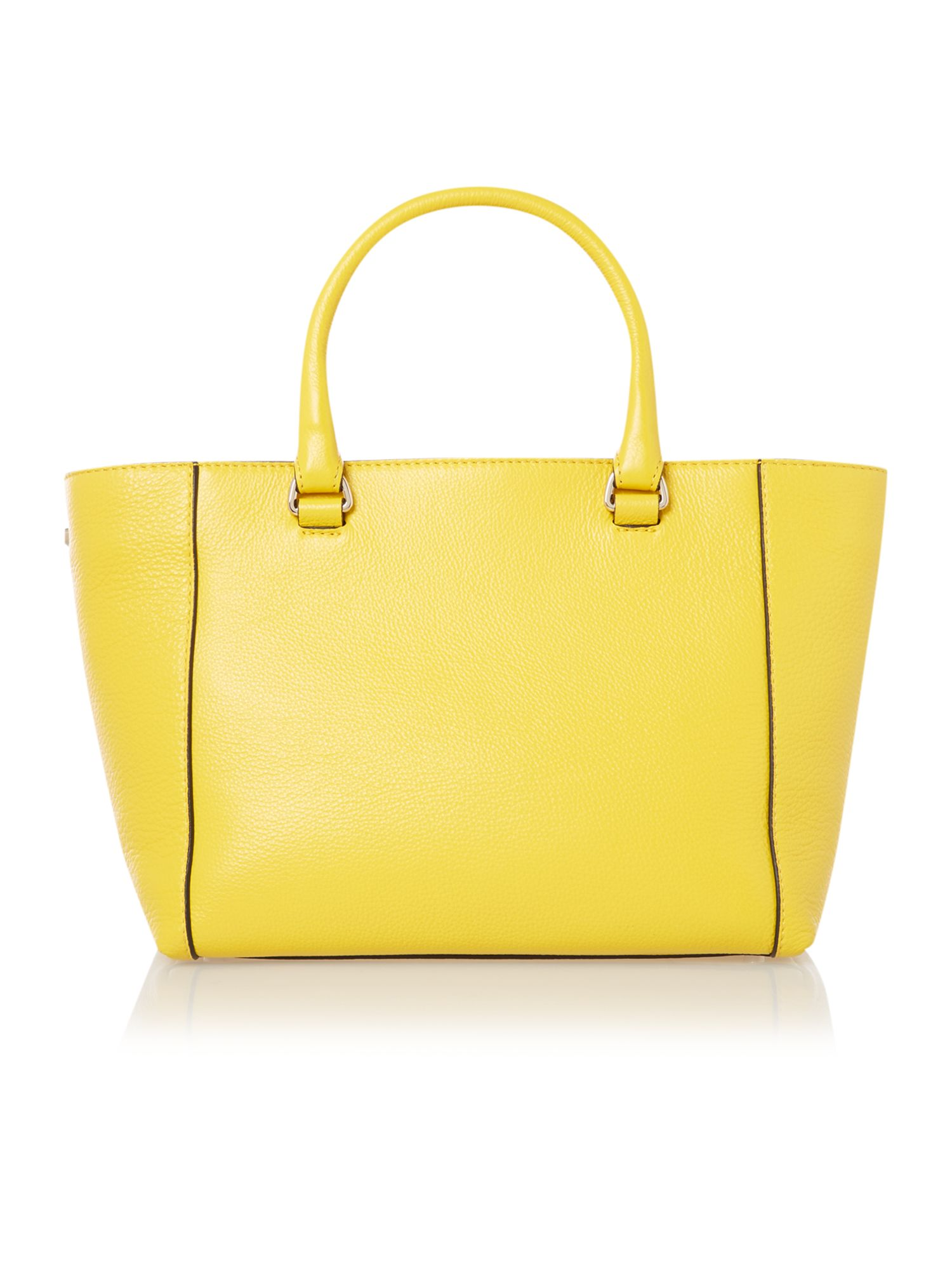 Celeste large yellow tote bag