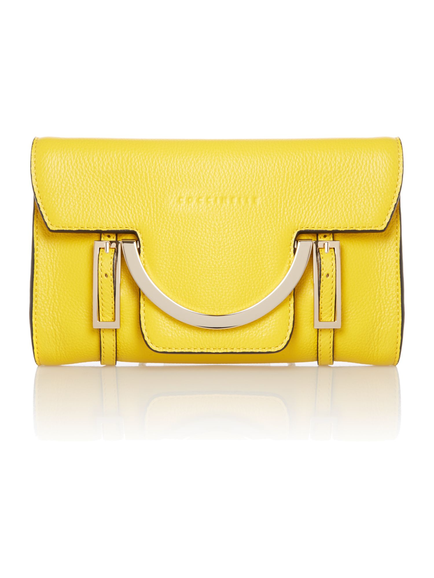 Yellow small cross body bag
