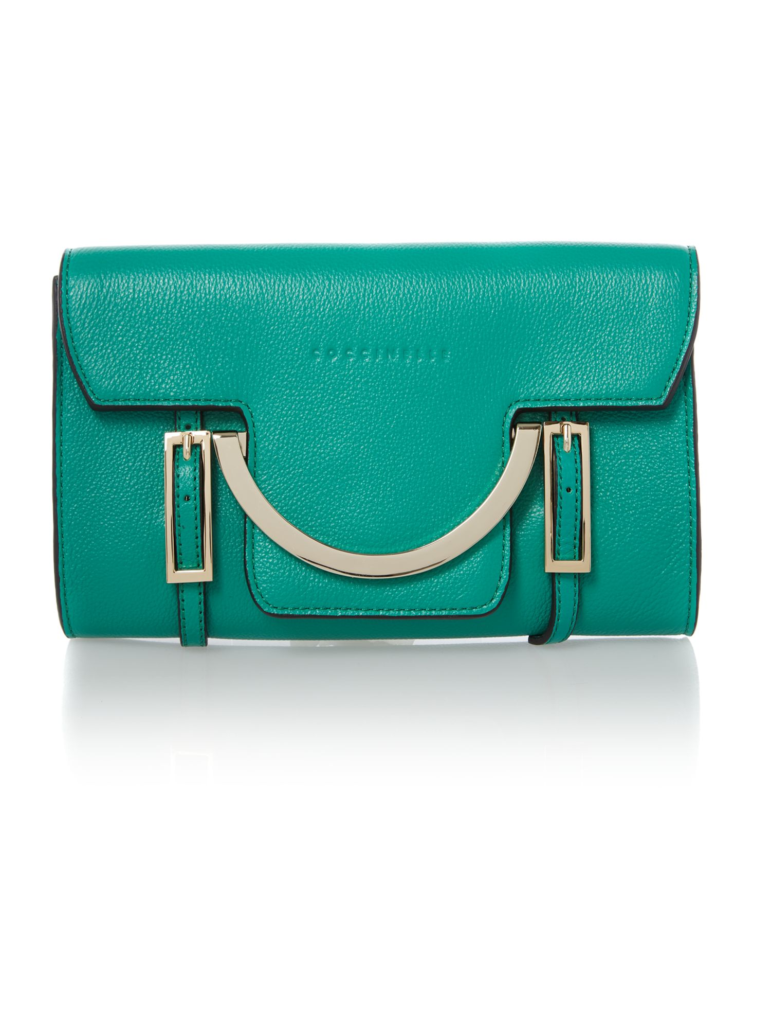 Celeste green small cross body bag