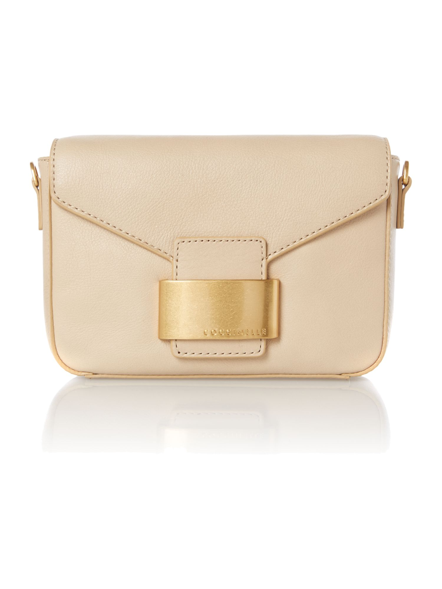 Tan small cross body bag