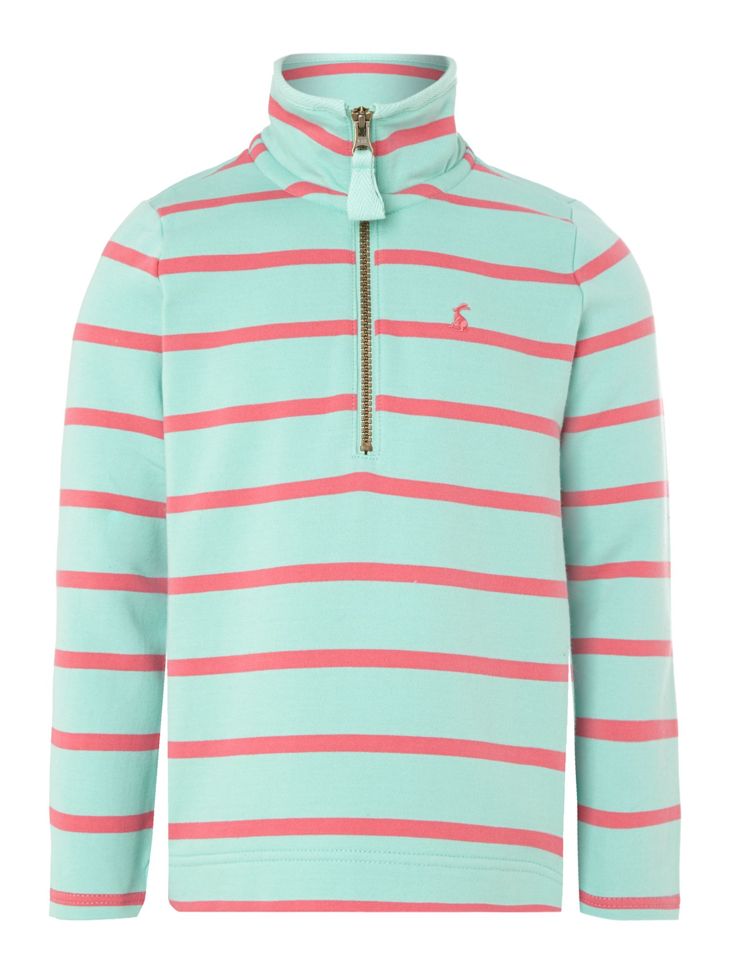 Girls zip up fleece sweater