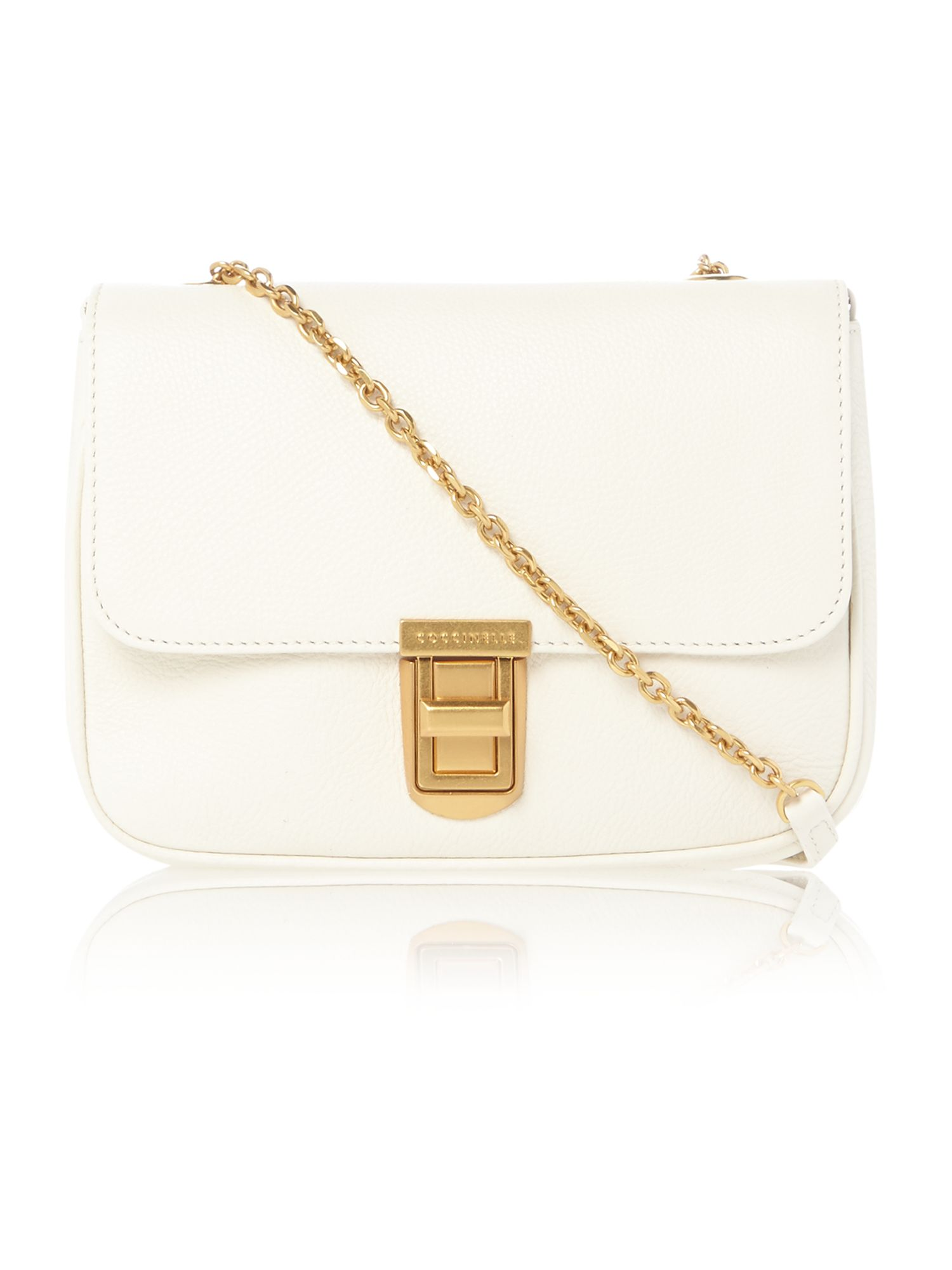 Neutral mini crossbody bag
