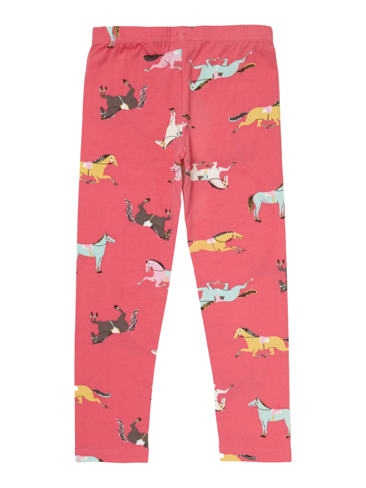 Girls pony print legging