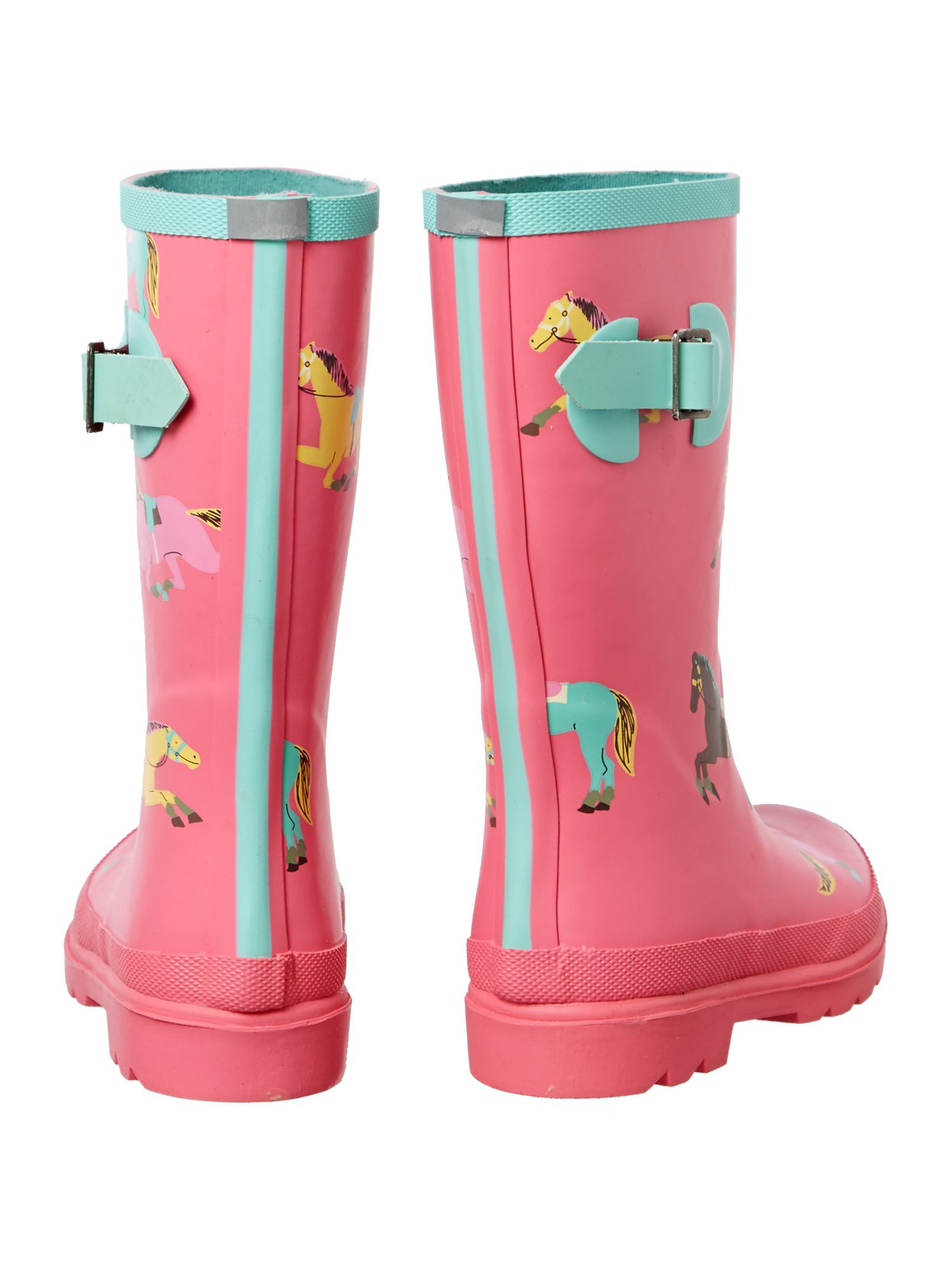 Girls pony wellies