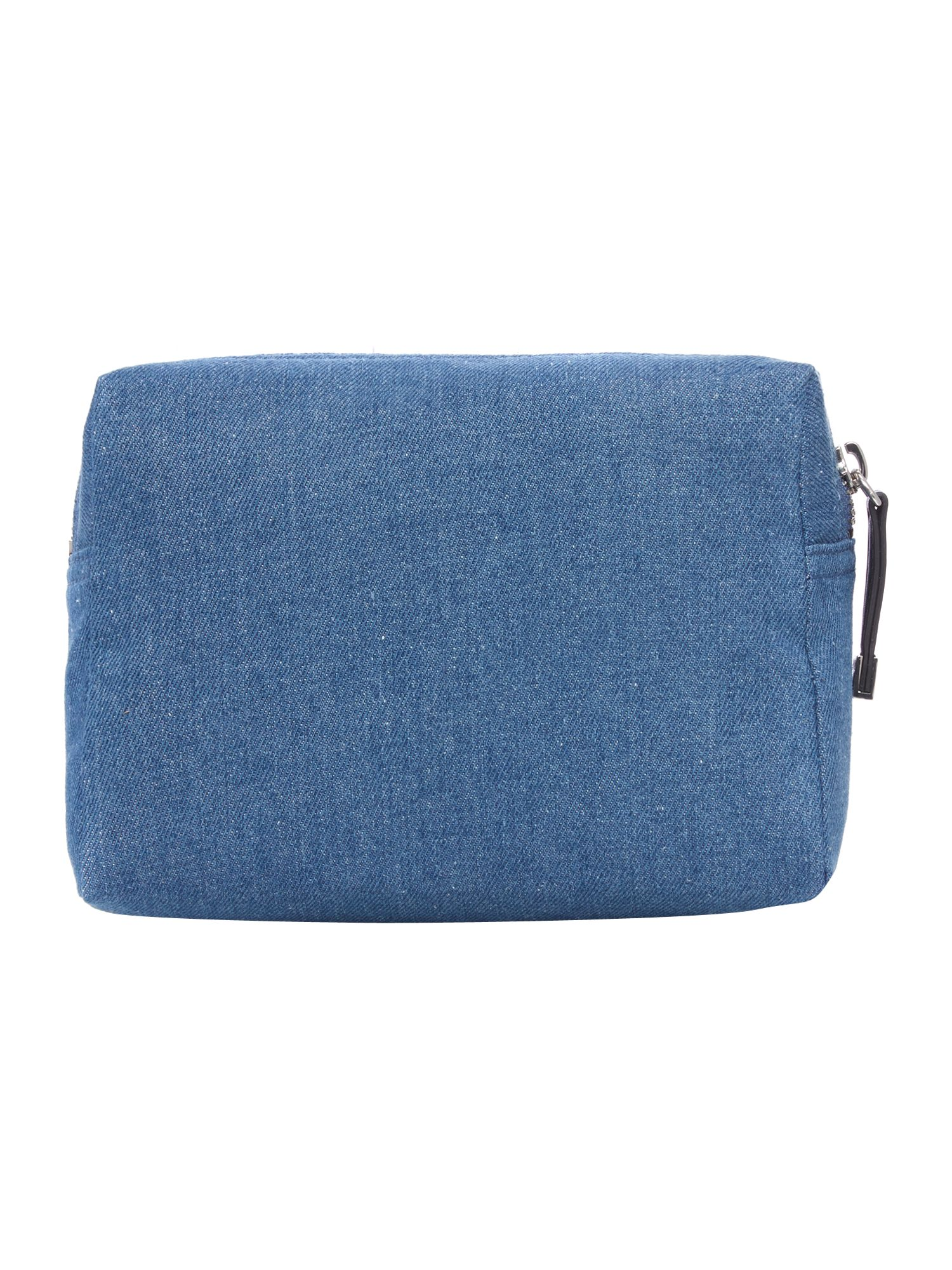 Blue medium cosmetic case