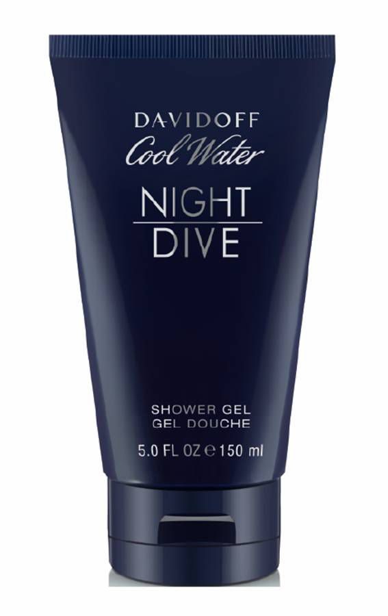 Cool Water Man Night Dive Shower Gel 150ml