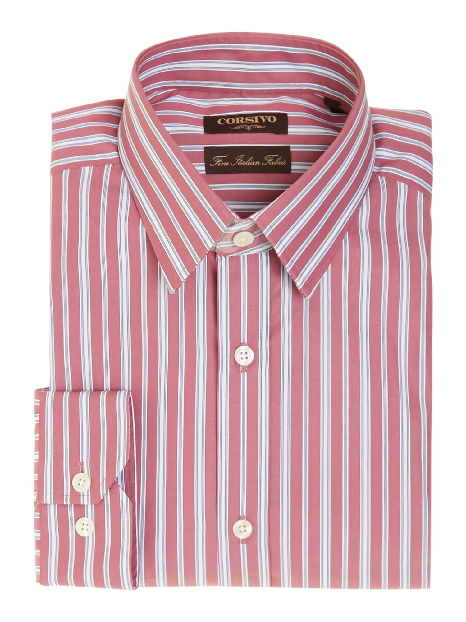 Pier thick and thin stripe shirt
