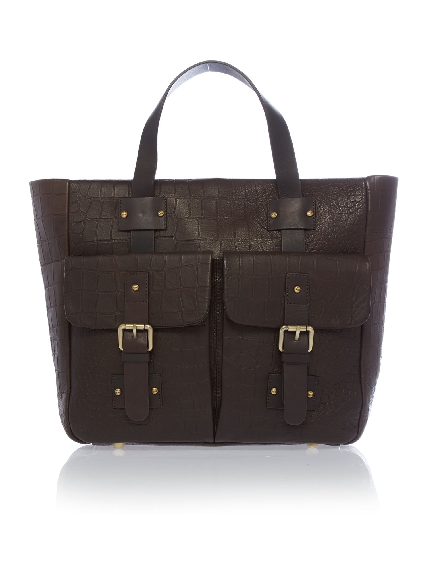Stowe brown tote bag