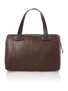 Chevely brown bowling bag