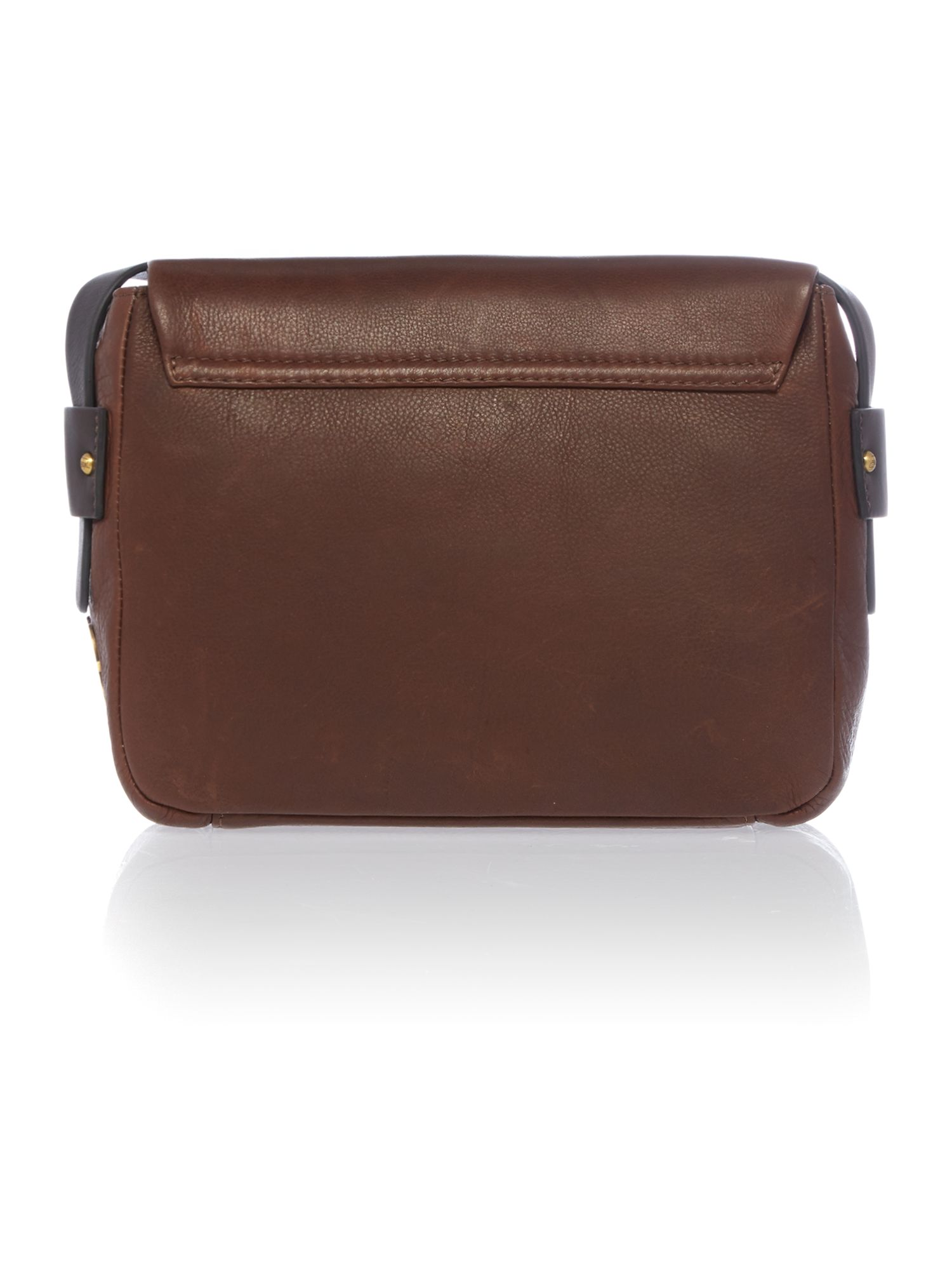 Ickford tan satchel bag