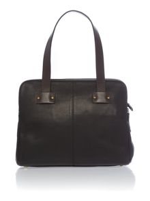 Elsworth black tote bag