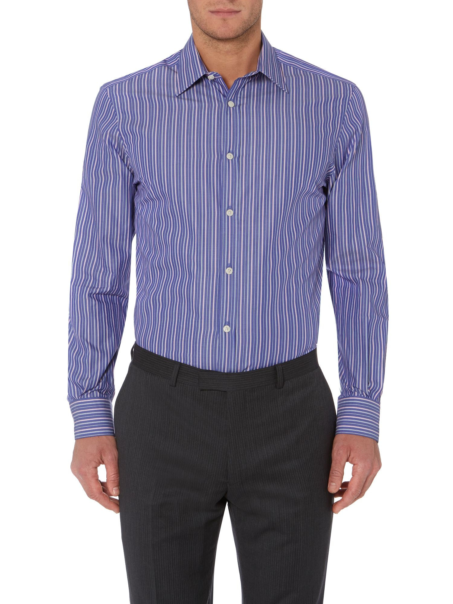 Corby fine stripes shirt