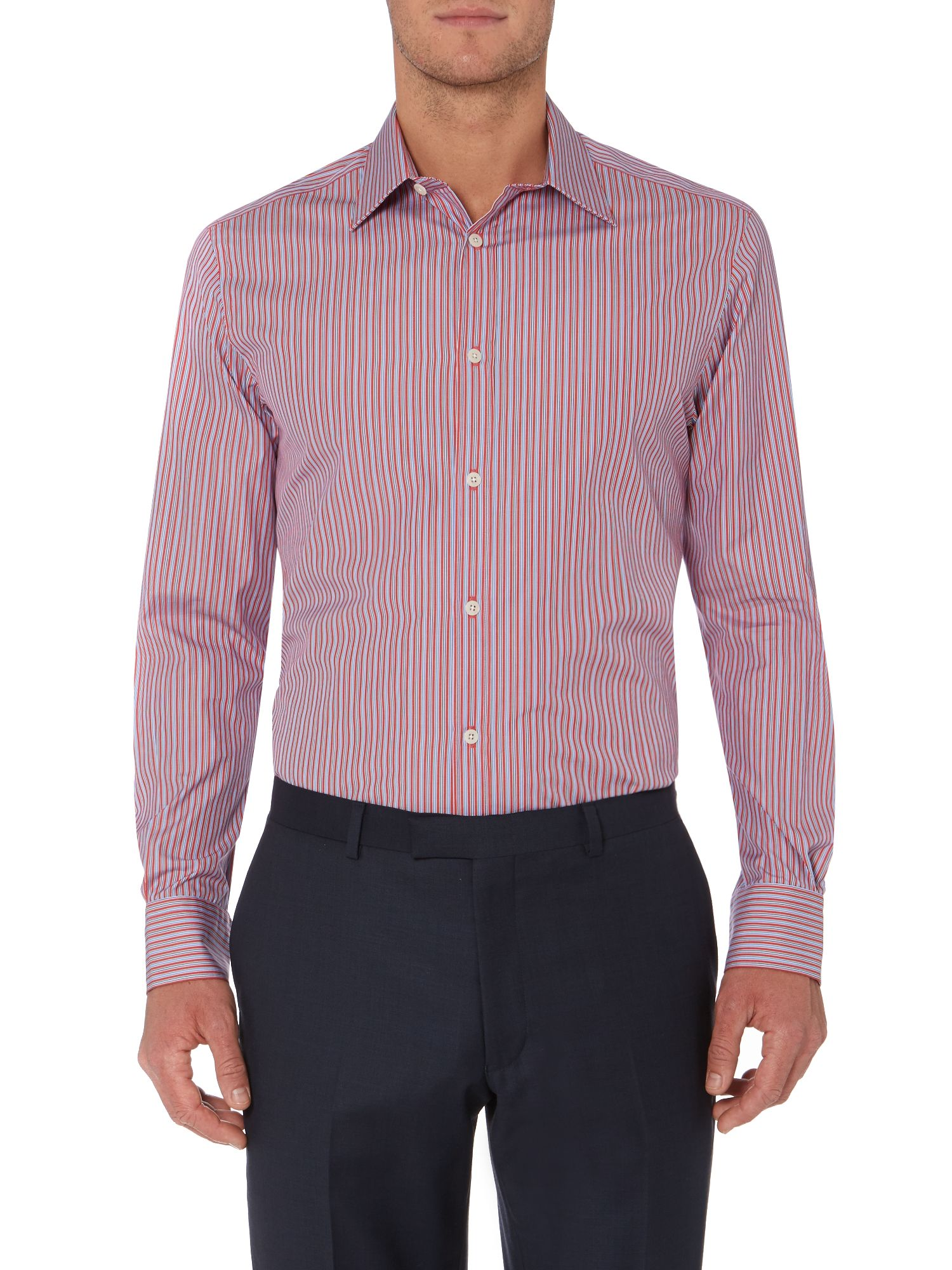 Aunby thin stripes shirt