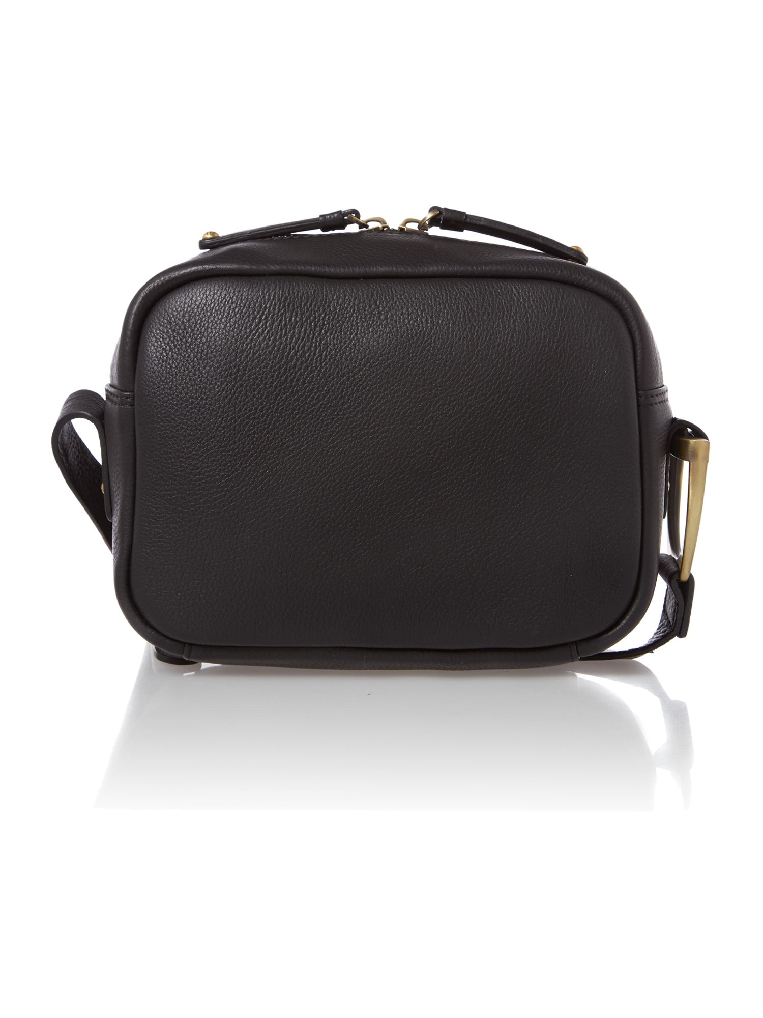 Burton Agnes black cross body bag