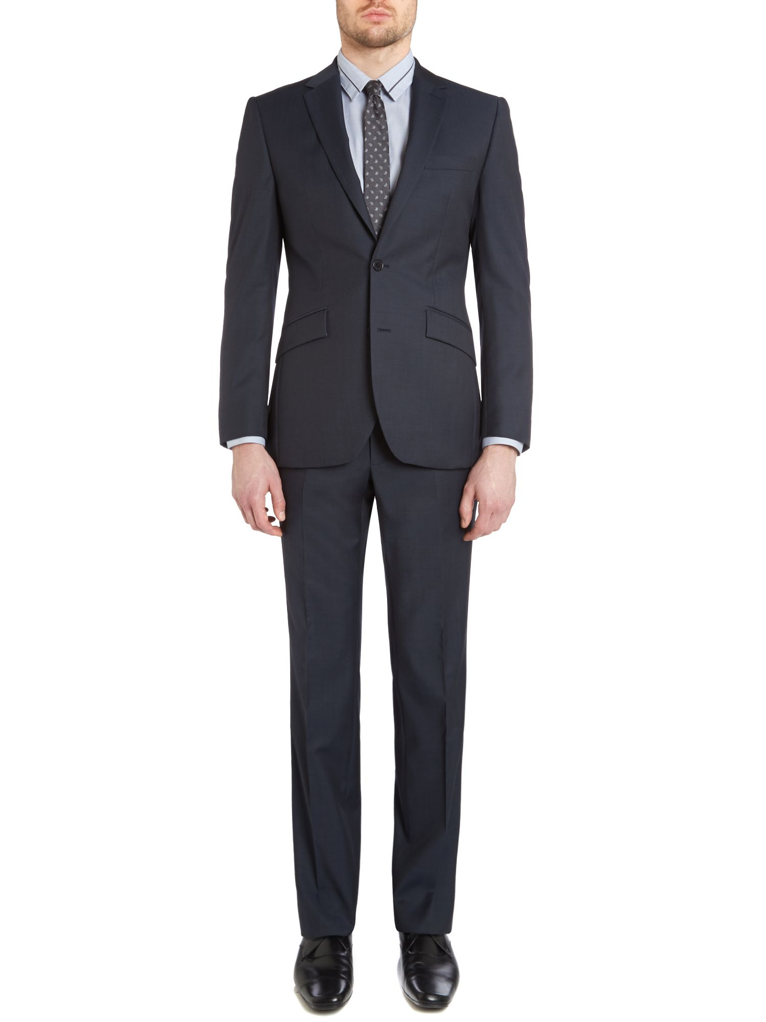 Danson tonic notch lapel nested suit
