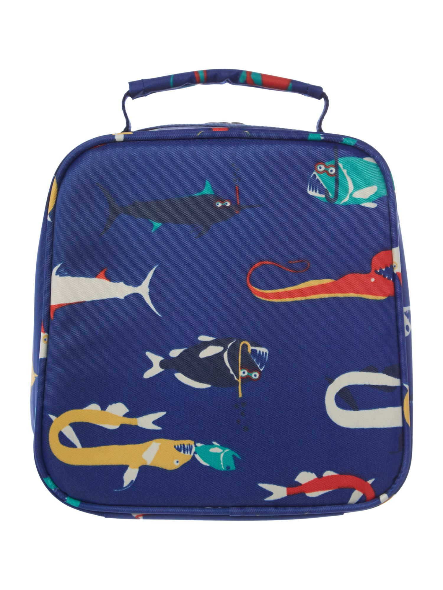 Boys fish print lunch box