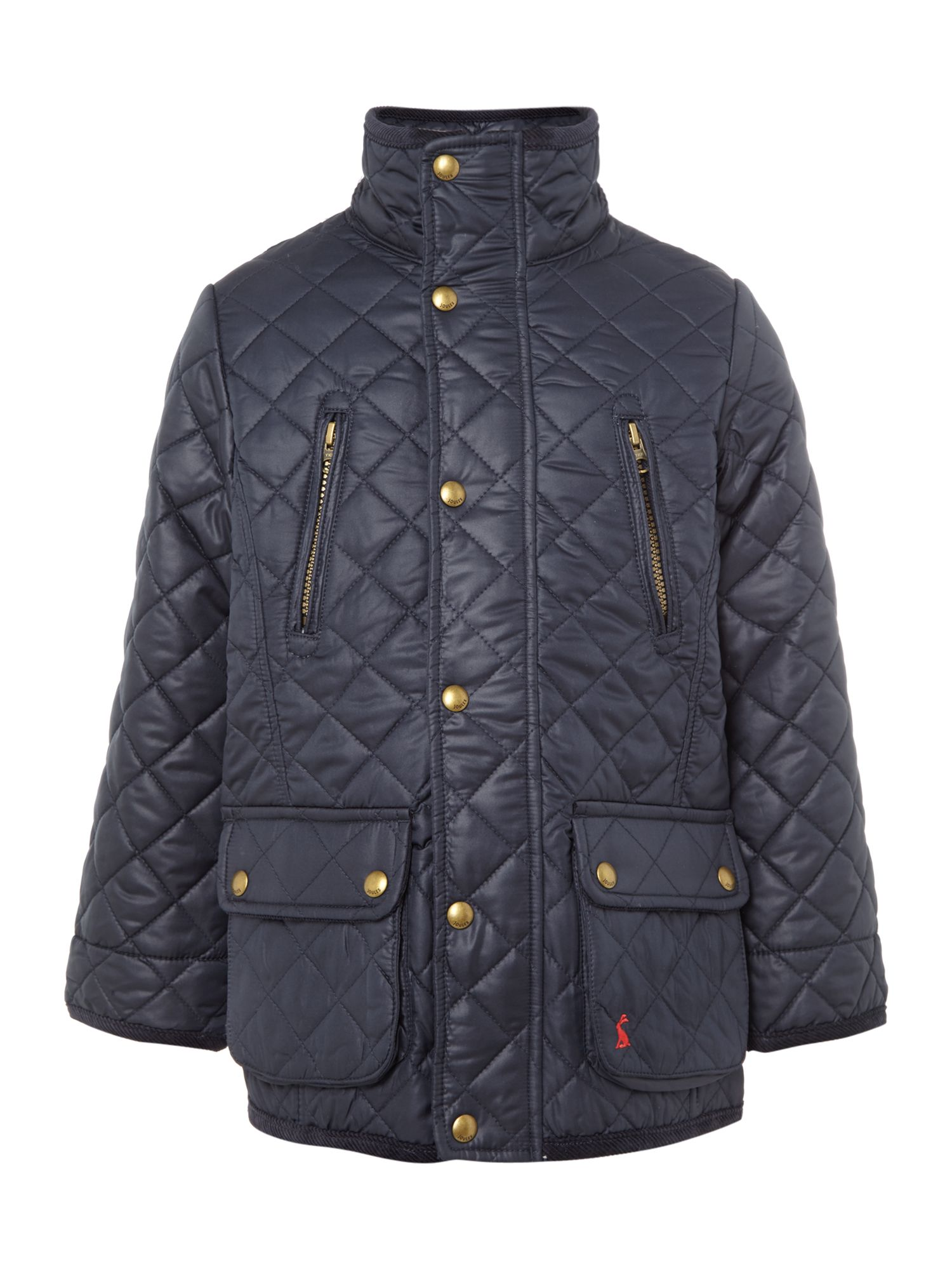 Boy's quilted utility jacket