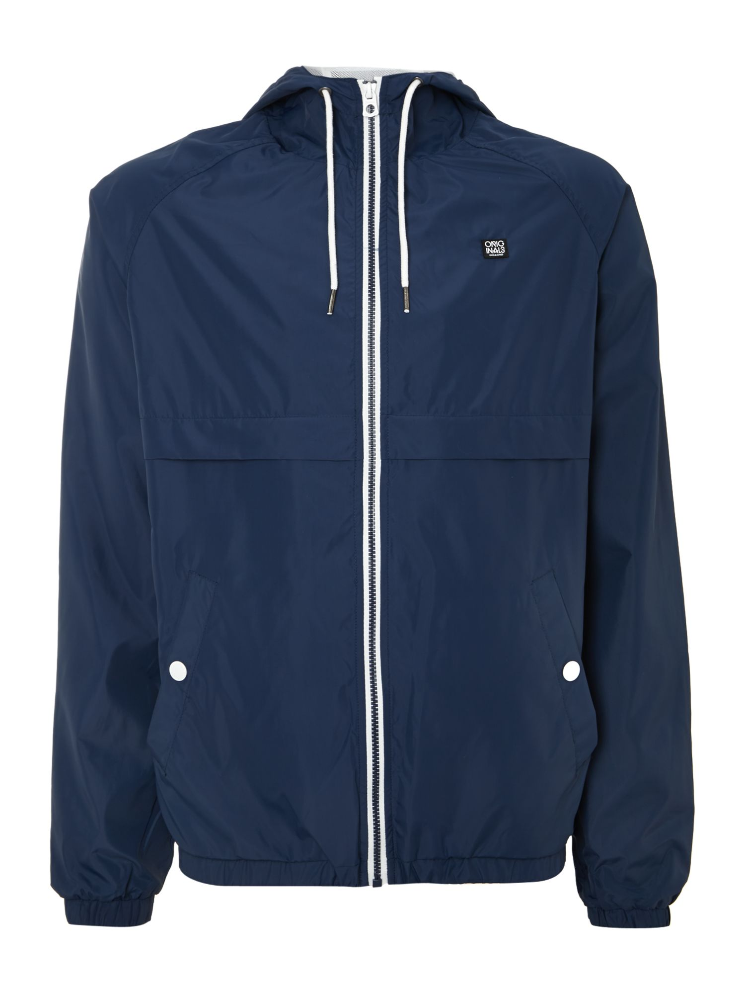 Lightweight zip through jacket