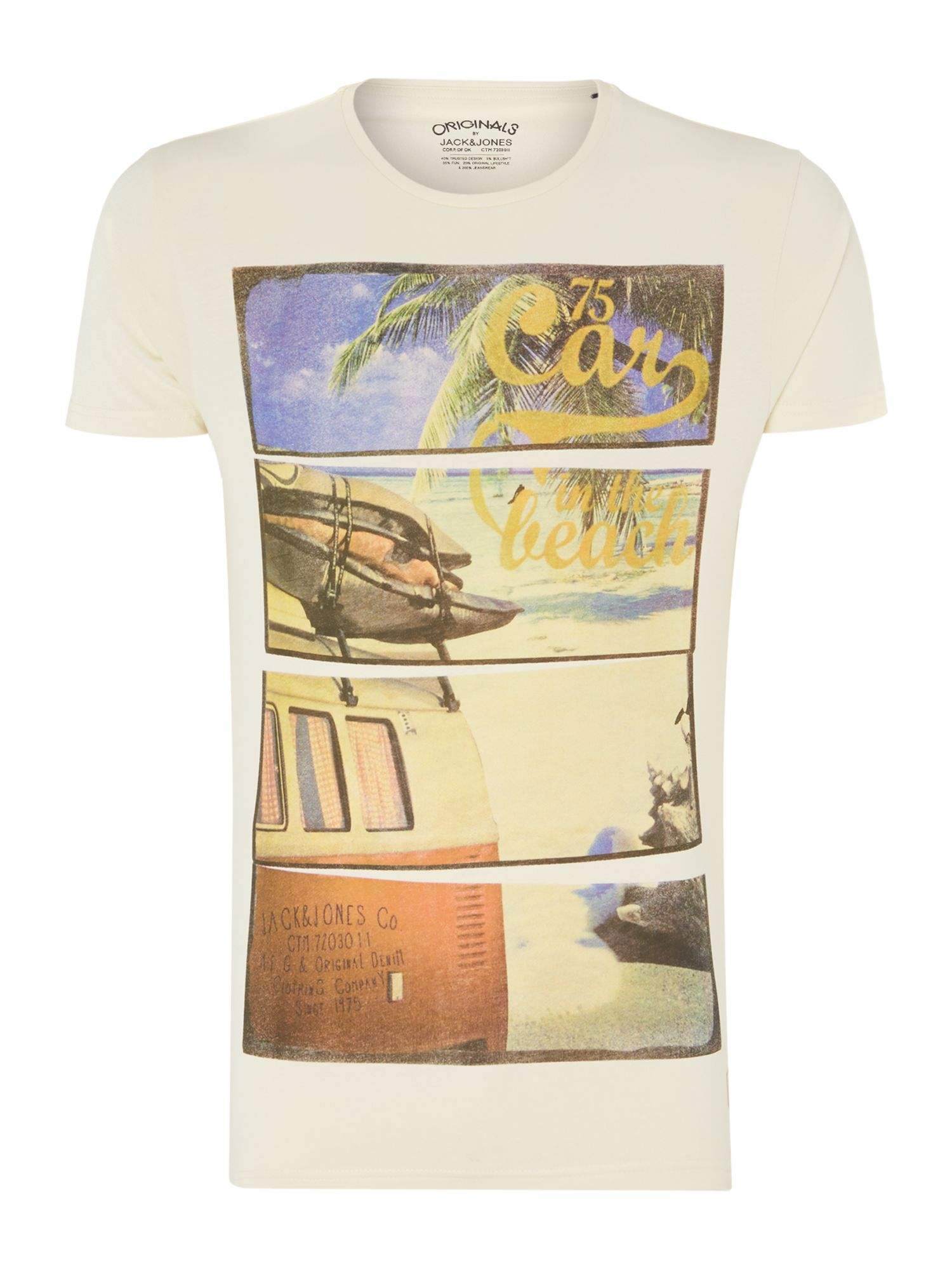 Camper van graphic t-shirt