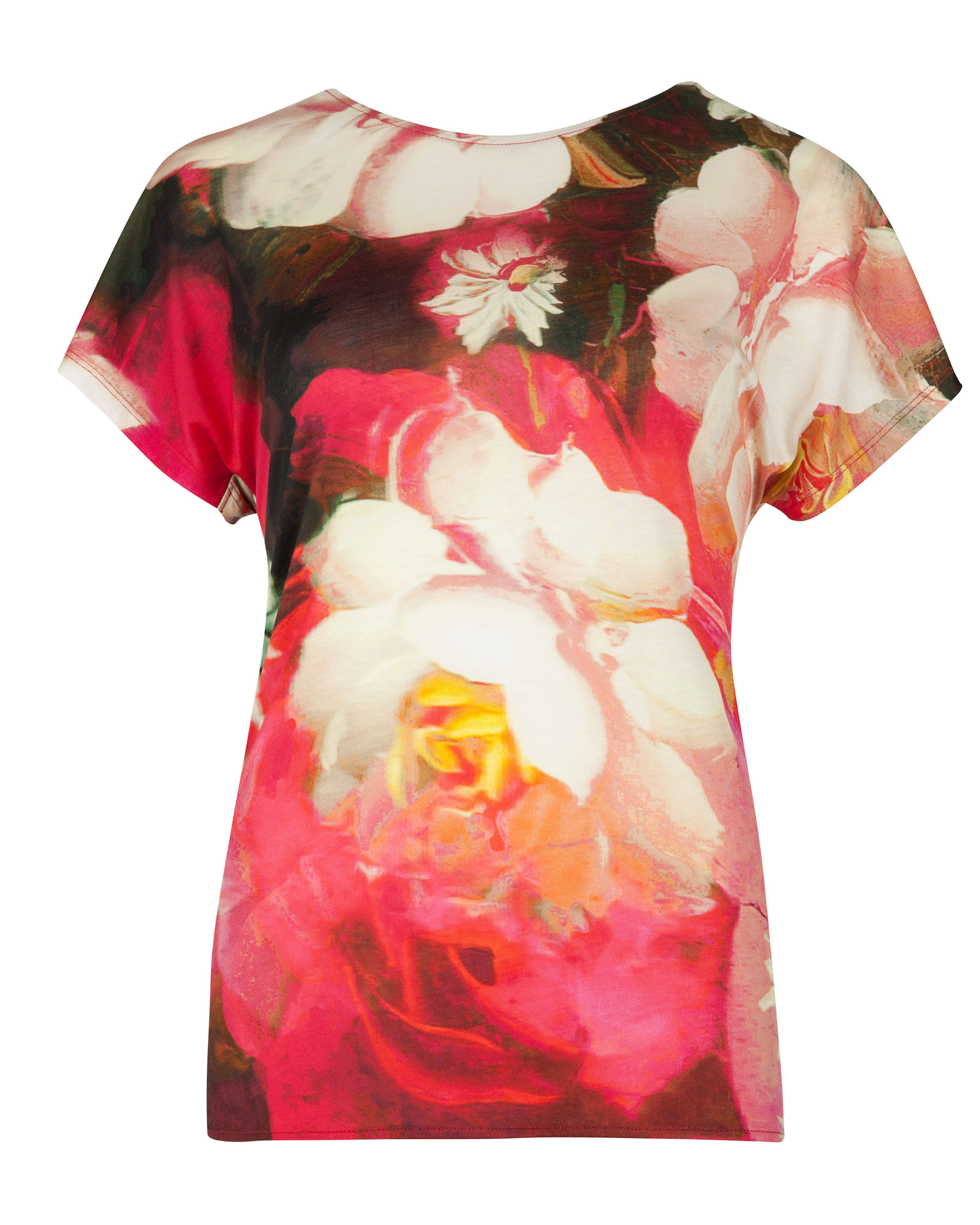 Chofa rose on canvas print top