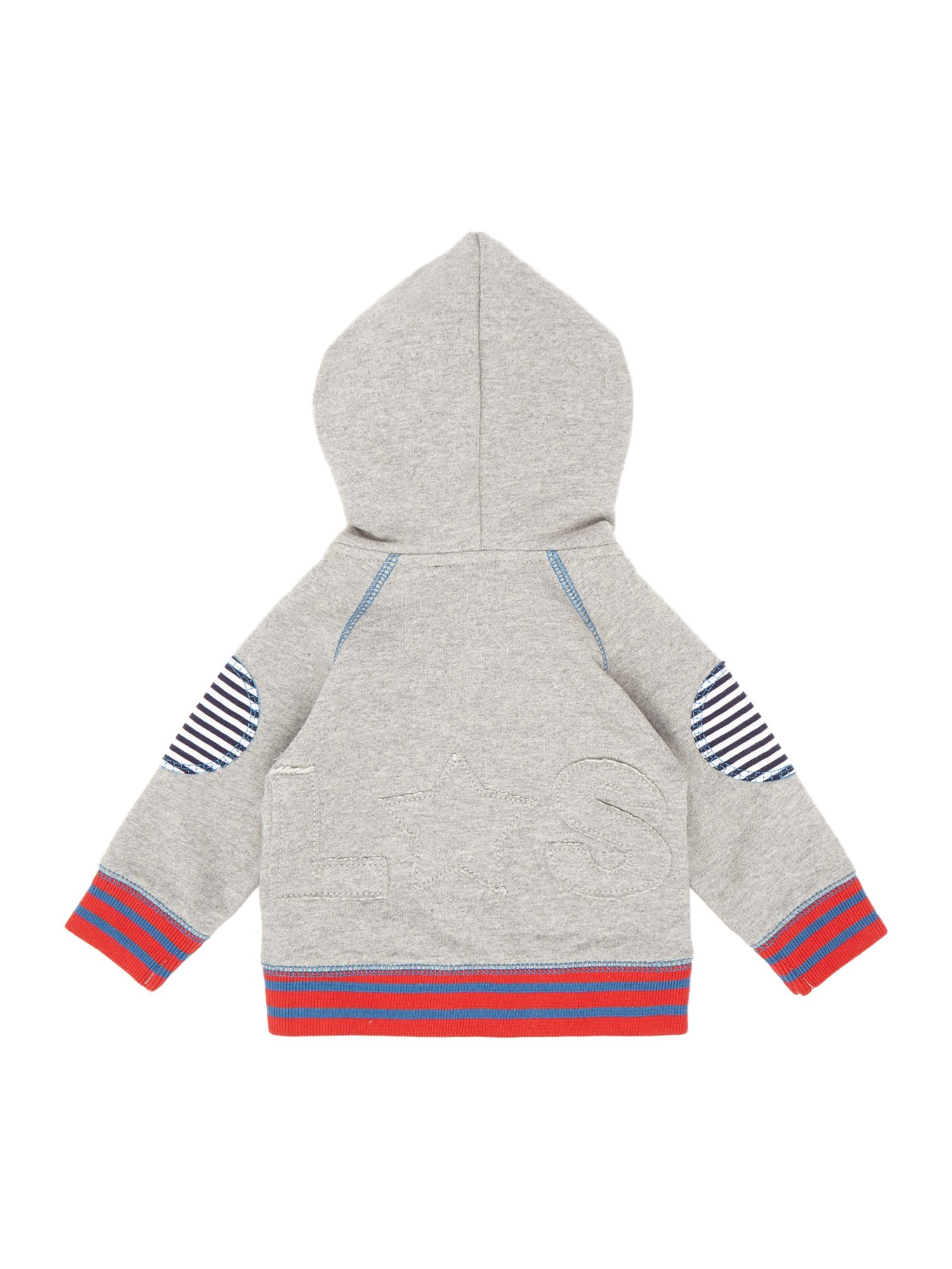 Baby zip through layering hoodie