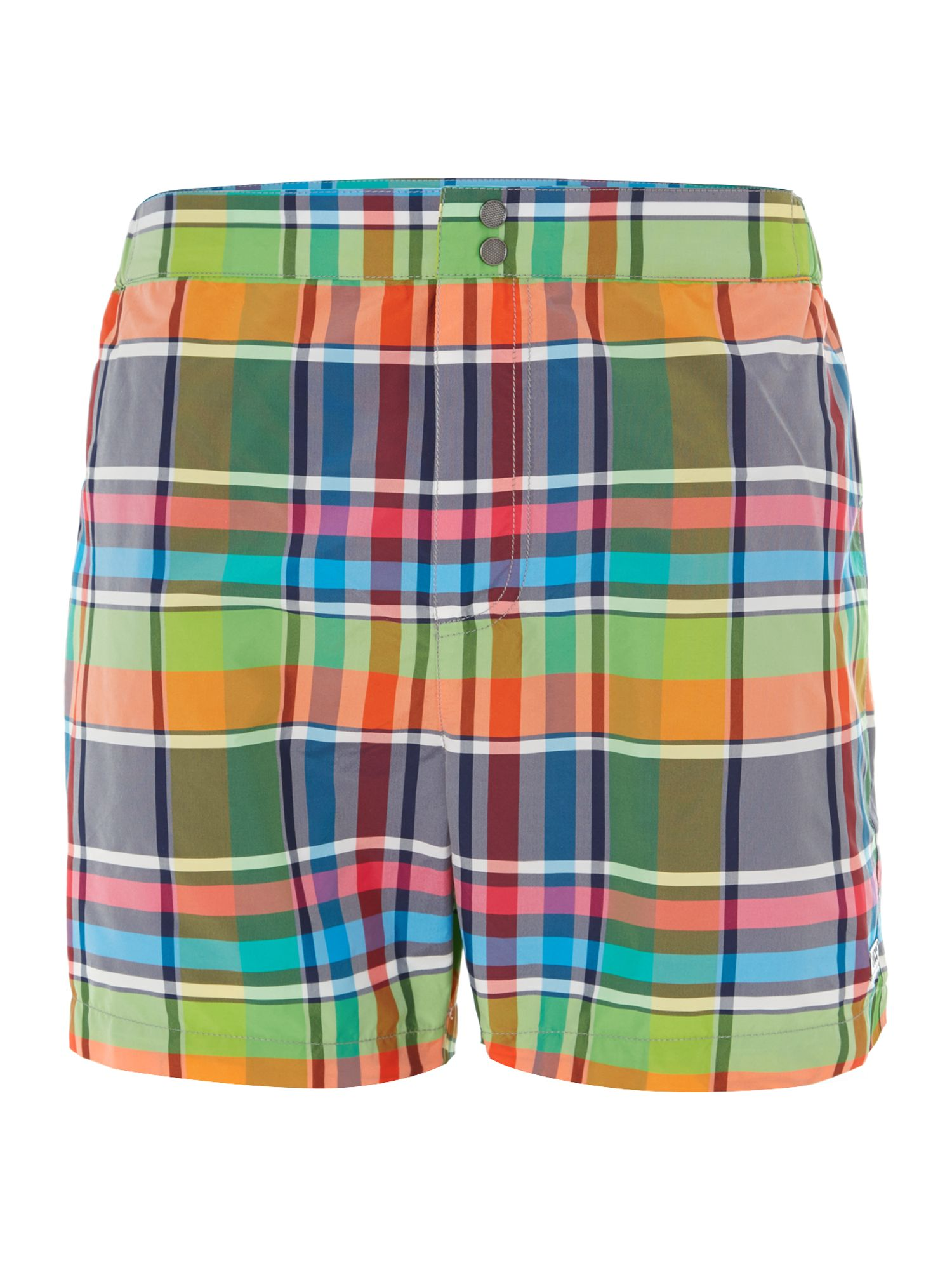 Catshark check swim short
