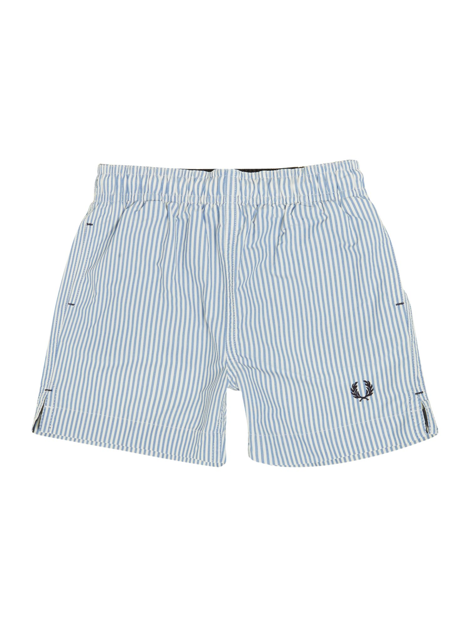 Boys stripe swim shorts
