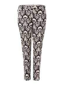 Bellico floral printed trousers