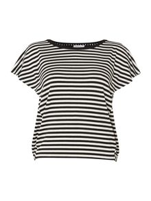 Marella Biro short sleeved striped t-shirt