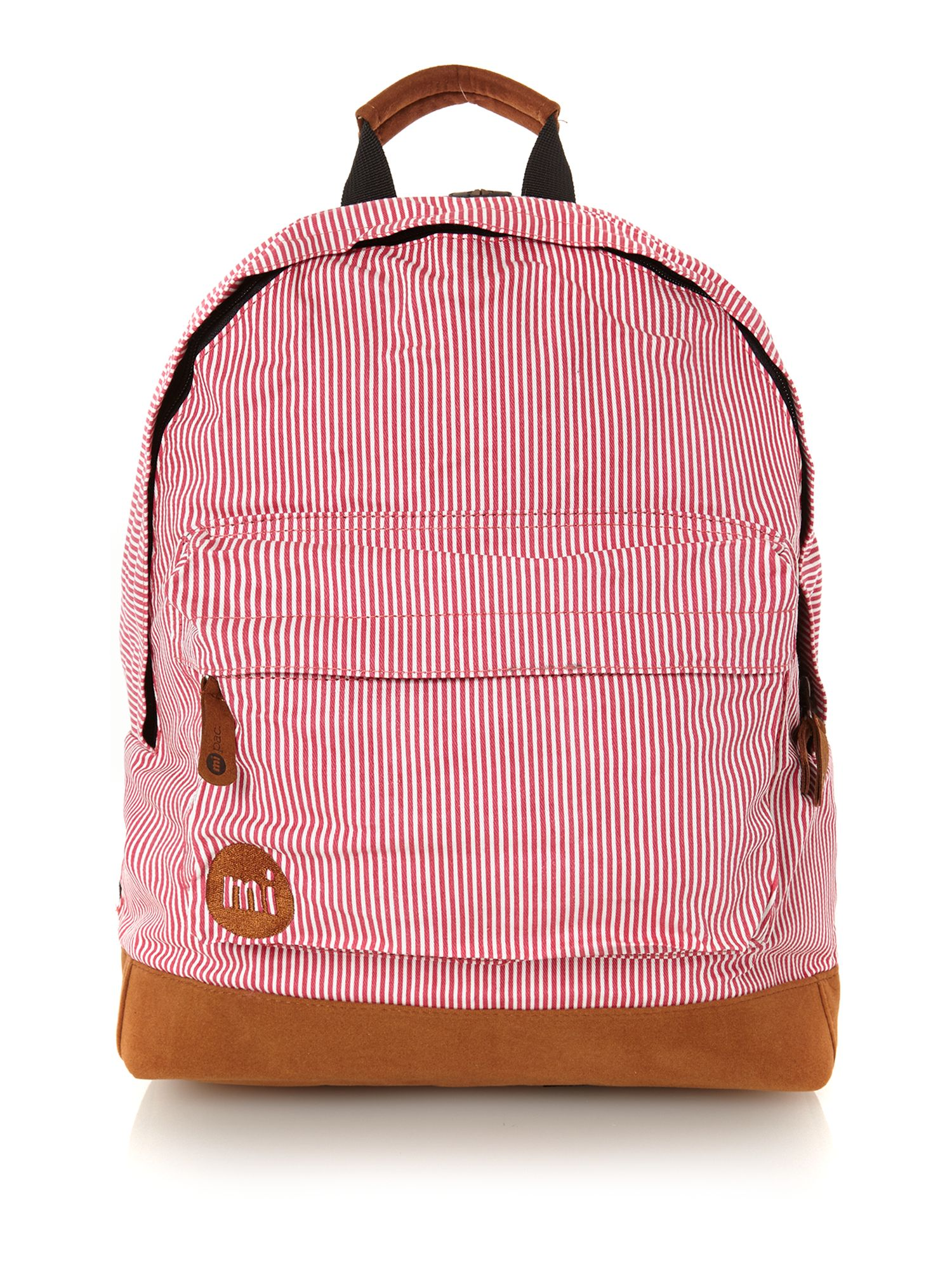 Candy stripe backpack